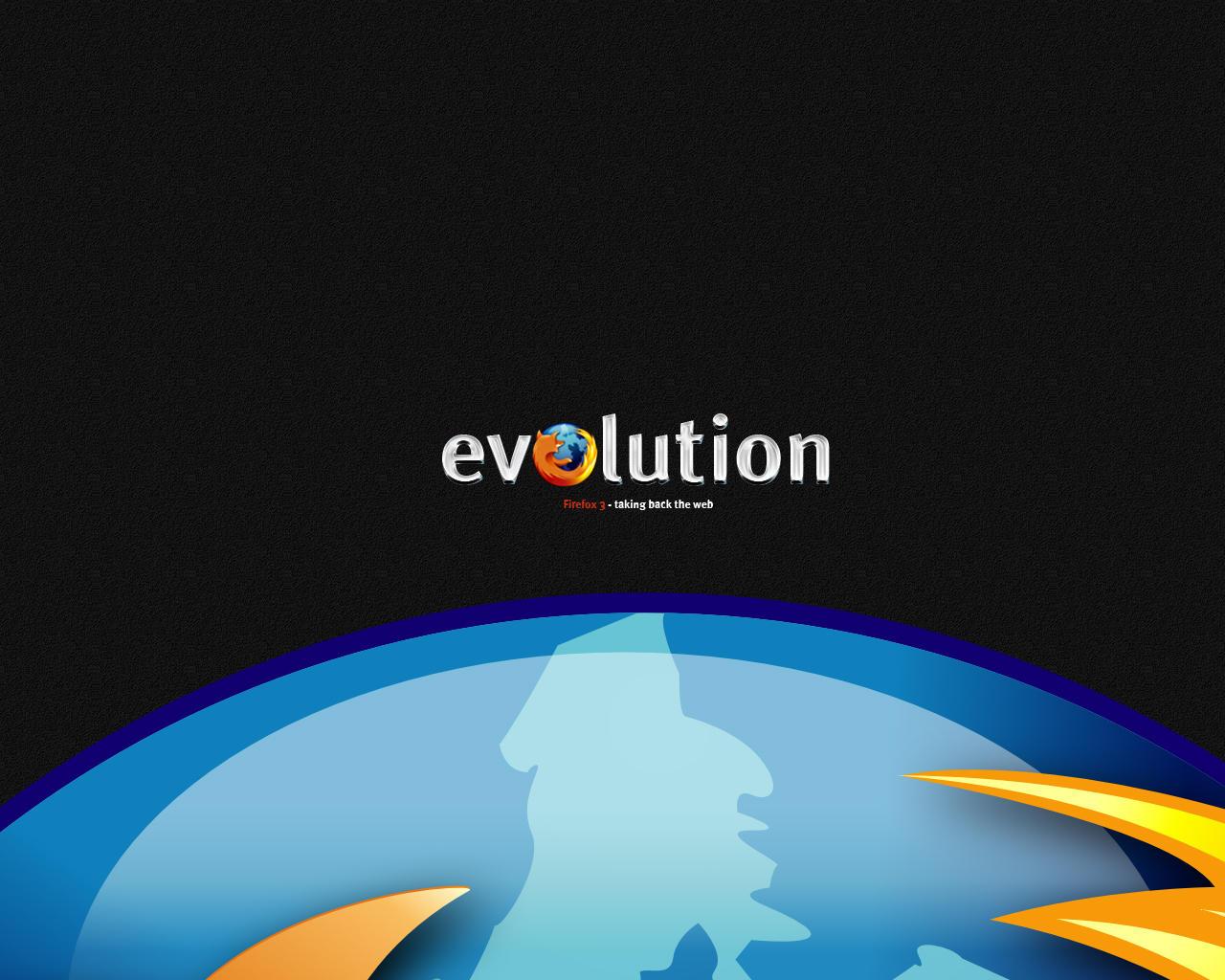 Firefox 3 Globe Wallpaper by michaelmknight