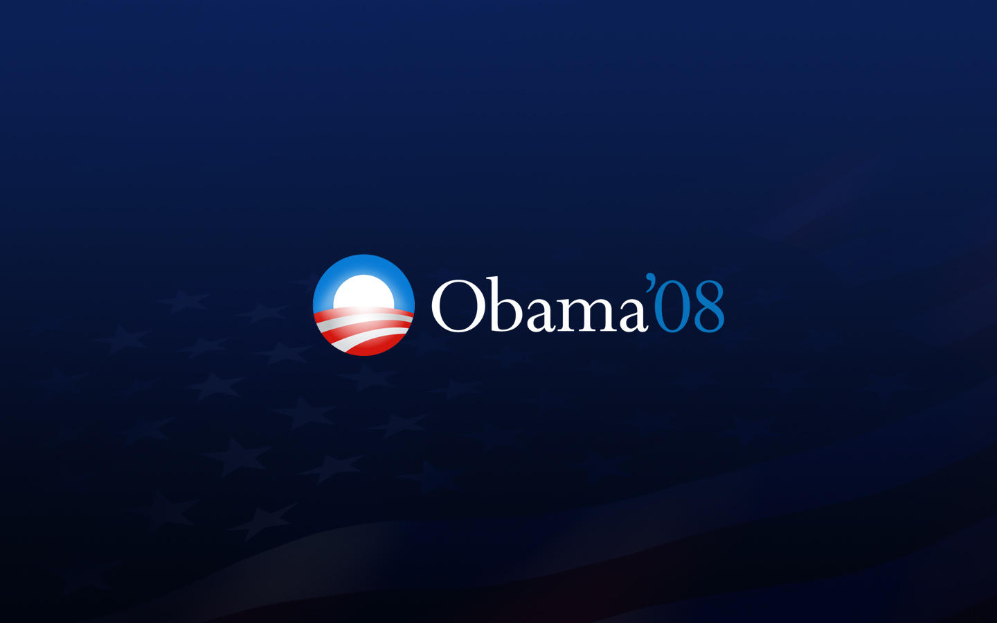 Barack Obama 08 Wallpaper by michaelmknight