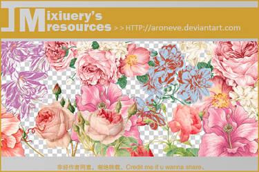 retro flowers by ARONEVE