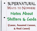 Supernatural Notes About Shifters and Gods