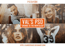 PSD # 004 [Orange Is the New Black] by almosteeasy