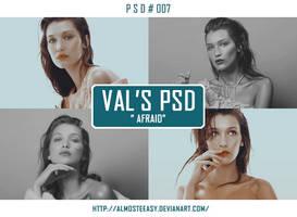 PSD # 007  [Afraid] by almosteeasy