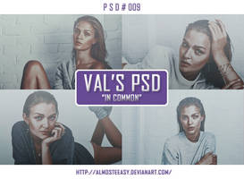 PSD # 009 [In Common] by almosteeasy
