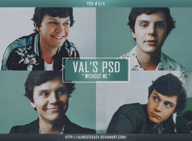 PSD # 015 [Without Me] by almosteeasy