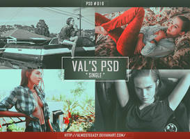PSD # 016 { Single } by almosteeasy