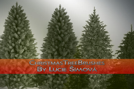 ChristmasTreeBrushes by markyfan