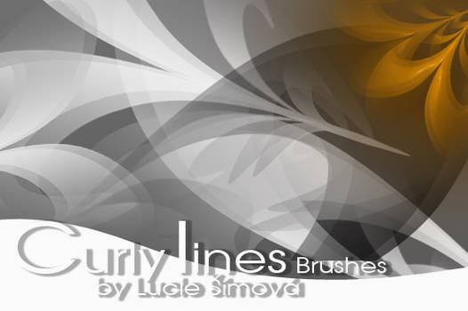 CurlyLines Brushes