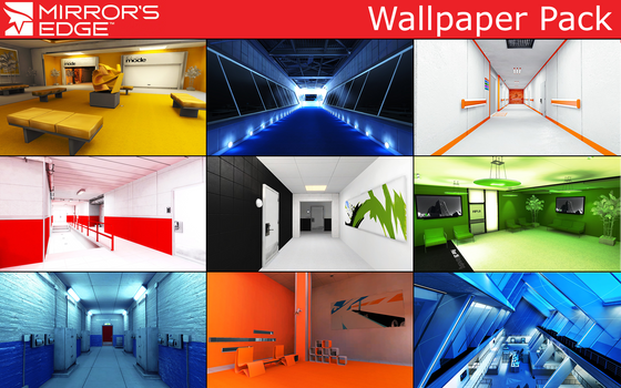 Mirror's Edge - Wallpaper Pack [65 Pictures] by NetuserPro