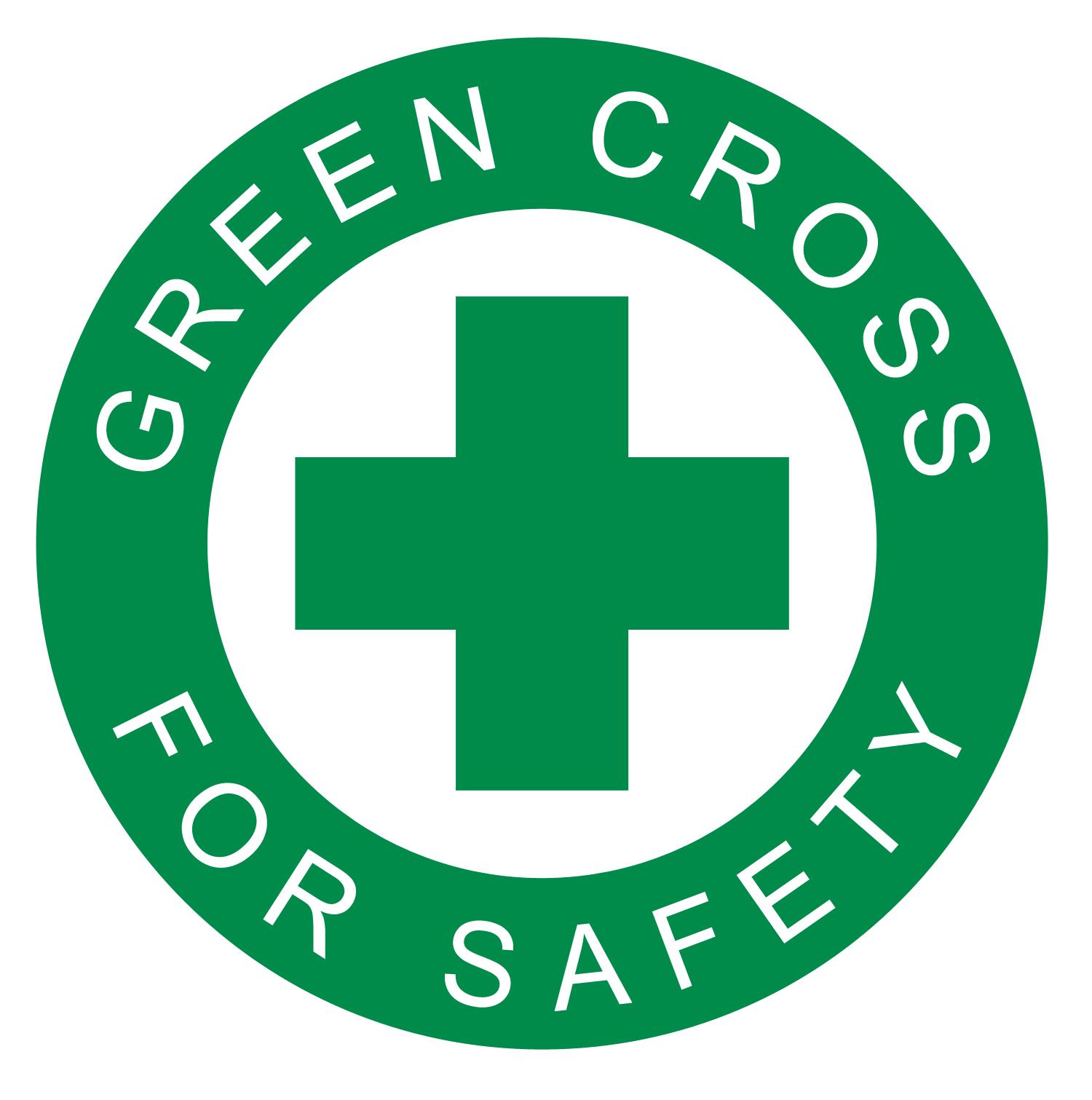 Logo - Green Cross For Safety