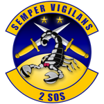 Shield 2SOS 2nd Special Operations Squadron