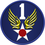 1st United States Army Air Force Shield