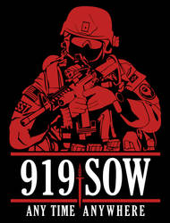 T-shirt AFSOC Operator 919SOW by scrollmedia
