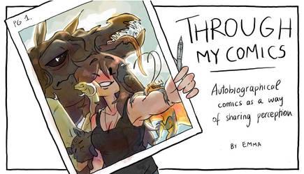 Through my comics
