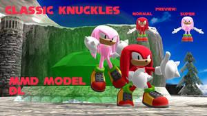 (MMD Edit) Classic Knuckles Download