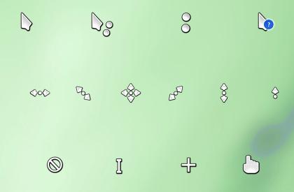 KDE Oxygen Cursor Theme by Psyco6sic6ness