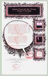 Speak Pink Journal Installable by gillianivyart