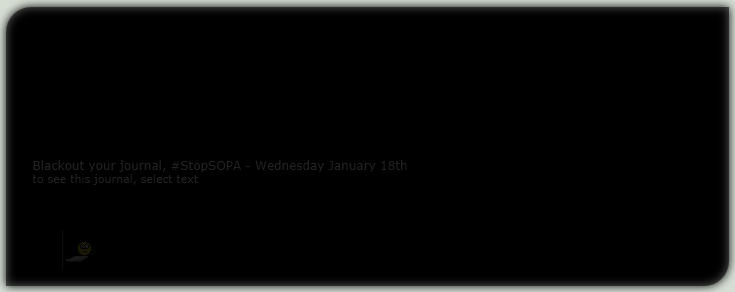 Stop SOPA Blackout Skin by GillianIvy