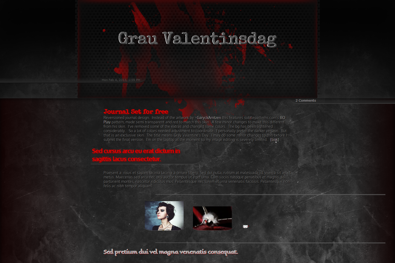 Grau Valentinsdag by GillianIvy