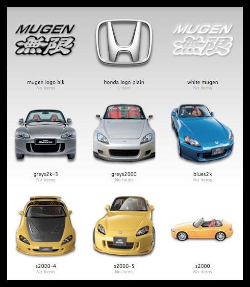Honda S2000 Icons by MugenB16