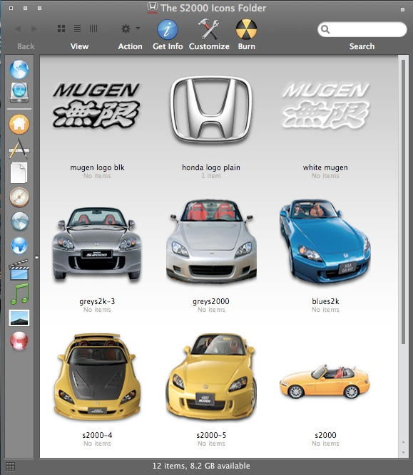 Honda S2000 Icons-Win by MugenB16