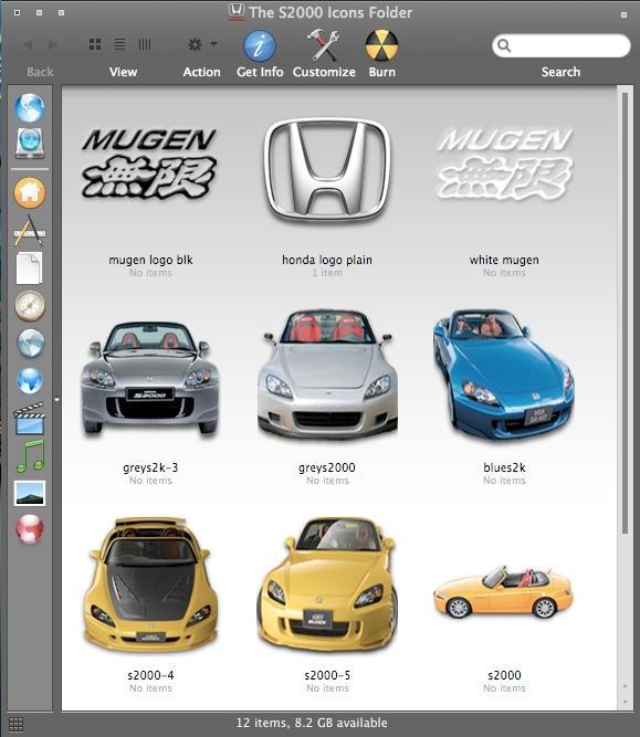Honda S2000 Icons-Win by MugenB16