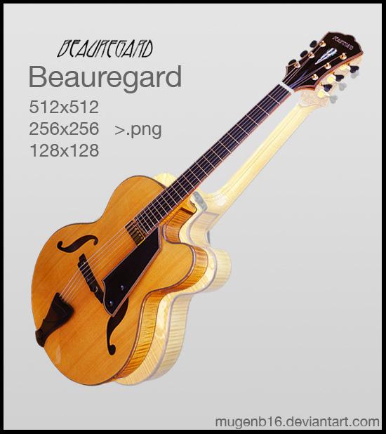 Beauregard Guitar Icon