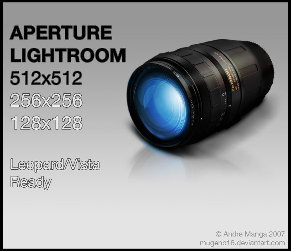 Lightroom or Aperture 3.1-Win by MugenB16