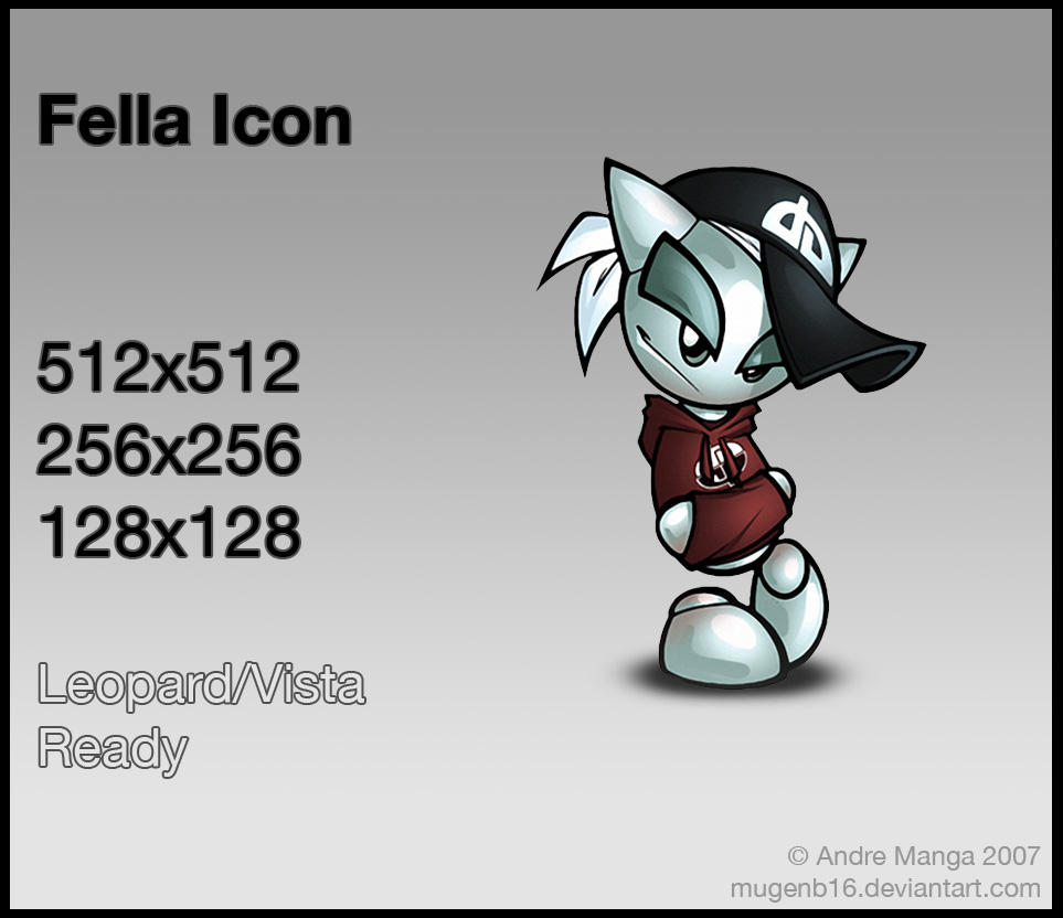 Fella Icon by MugenB16