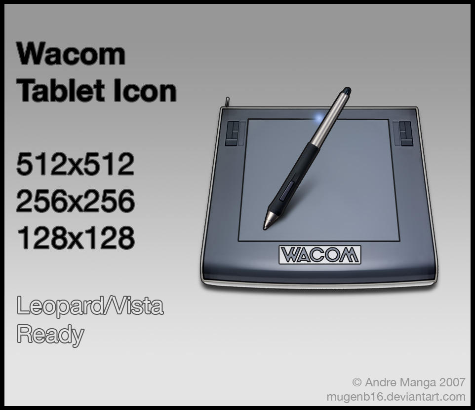 Wacom Intuos3 Icon by MugenB16