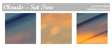 Funky Clouds - Set Two by Tarla
