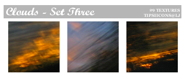 Funky Clouds - Set Three by Tarla