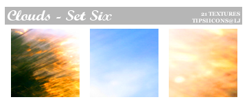 Funky Clouds - Set Six by Tarla