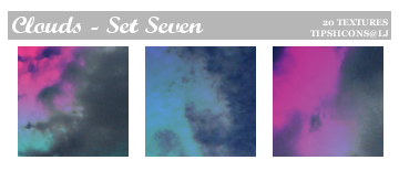 Funky Clouds - Set Seven by Tarla