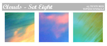 Funky Clouds - Set Eight by Tarla