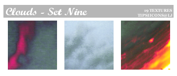 Funky Clouds - Set Nine by Tarla
