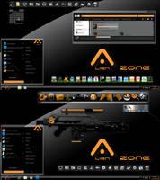 Alien Zone windowblind by coolcat21