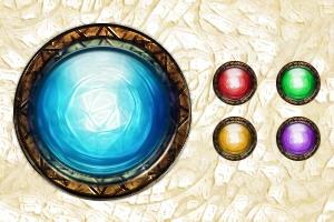 Magic buttons by Dakal-FR