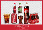 [PNG PACK]#4 Cola PNGs