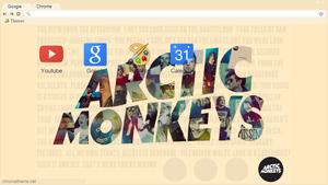 Arctic Monkeys - Theme Google Chrome {phxani}