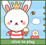 Clover Bunny Dress Up Game