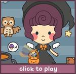 Buttons Halloween Dress Up Game