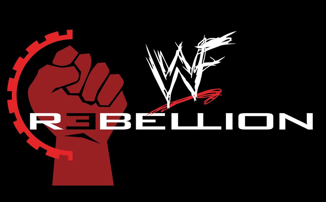 wwf rebellion logo by b1uechr1s on deviantart
