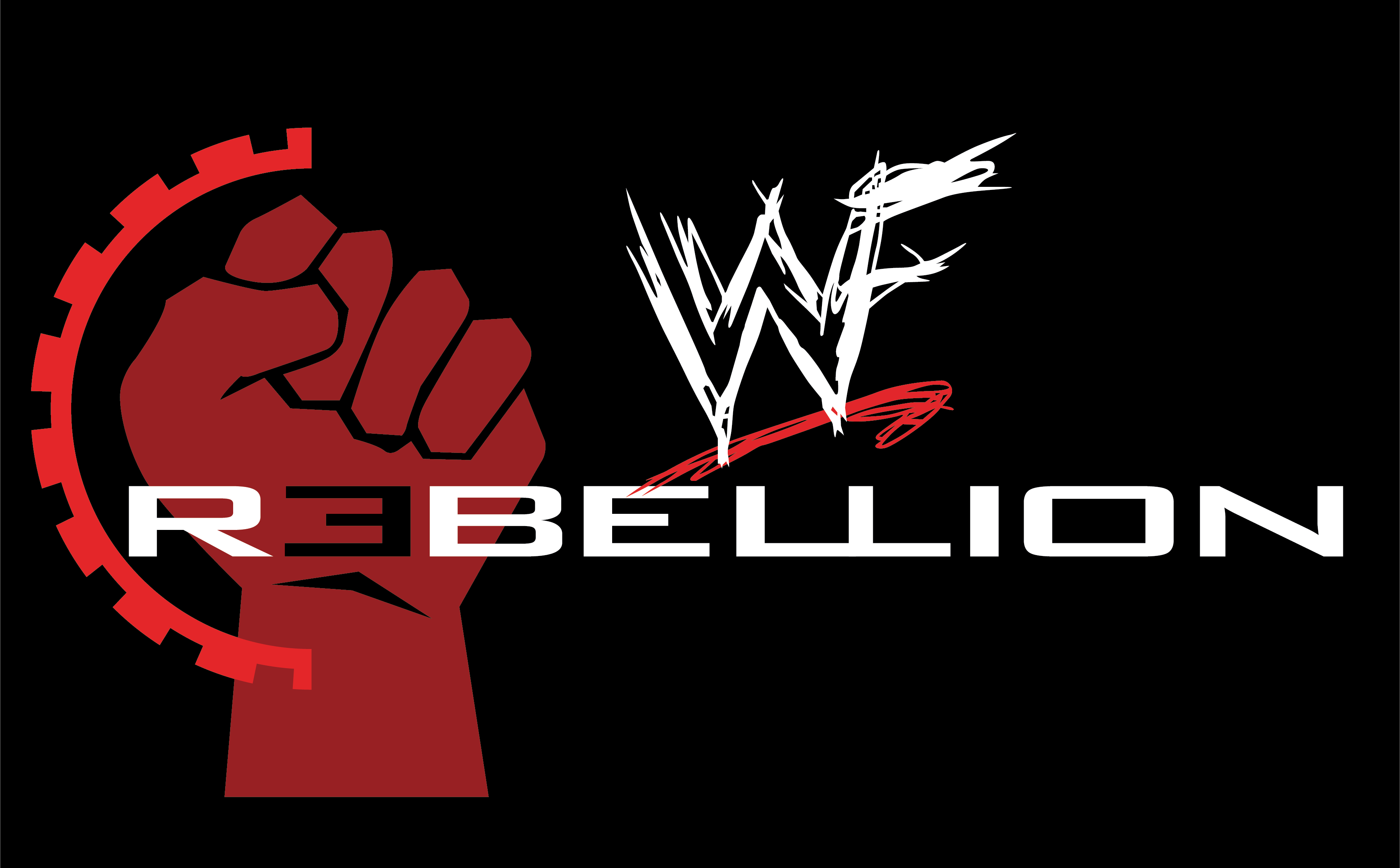 wwf rebellion logo by b1uechr1s on deviantart