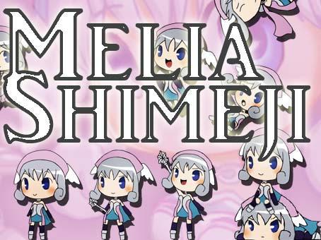 Xenoblade Shimeji - Melia by SilviShinyStar