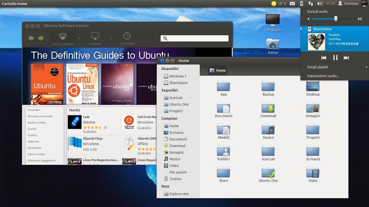 Ambiance Blue [Ubuntu 12.04] by sonnhy96