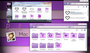 Tema Iconpackager PurpleMac
