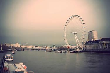 London Eye by stekkes