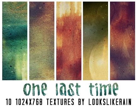 One Last Time by lookslikerain
