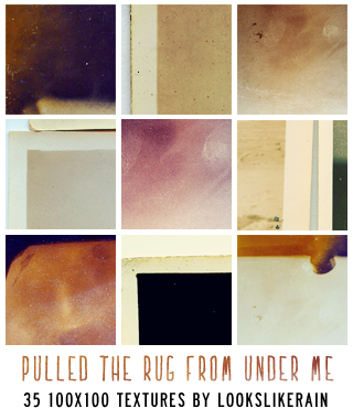 Pulled The Rug From Under Me by lookslikerain