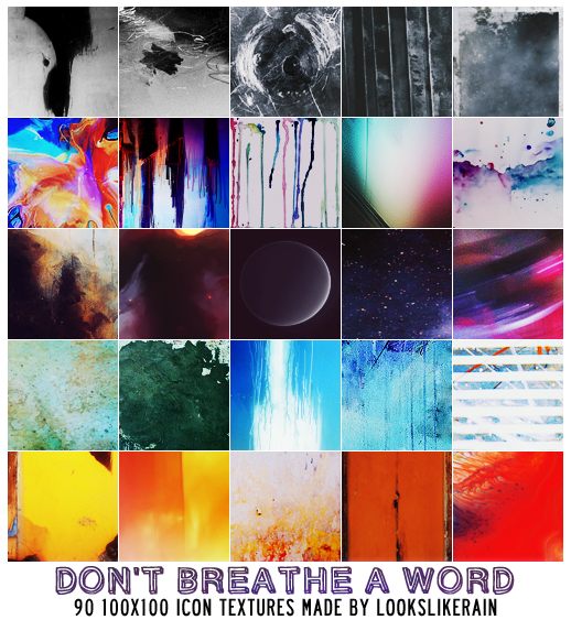 Don't Breathe A Word by lookslikerain